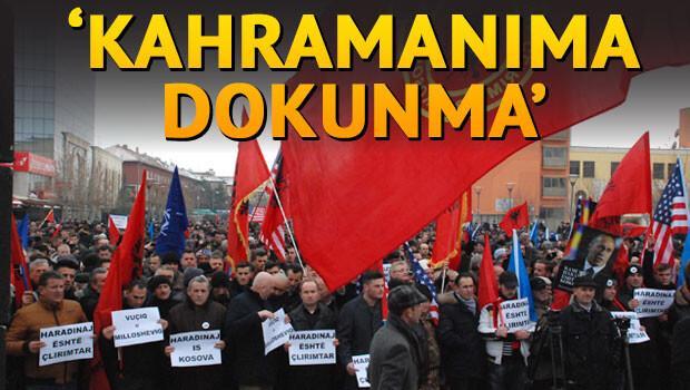 Avrupa'daki Kosovalılar Haradinaj için buluştu