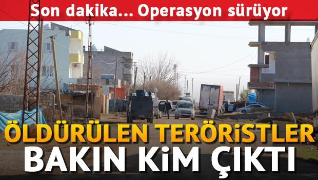 Mardinde çatışma...3 PKKlı öldürüldü...Operasyon sürüyor