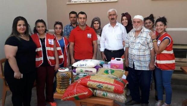 Türk Kızılay'ından Ahıska Türklerine Gıda Yardımı