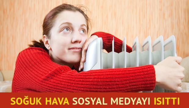 Sosyal medyada Ankara soğuğu