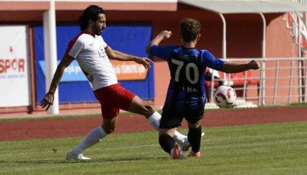 Gümüşhanespor - Kayseri Erciyesspor: 1-0