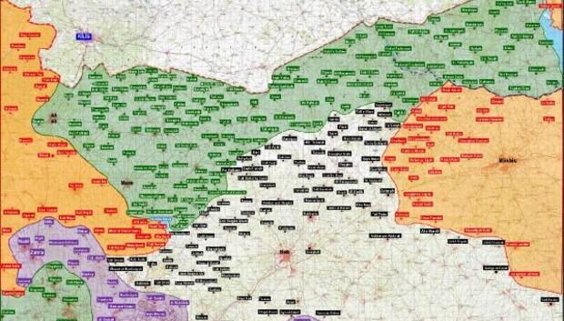 Fırat Kalkanı Harekatında IŞİD ile PKK/PYD hedefleri vuruldu / fotoğraf