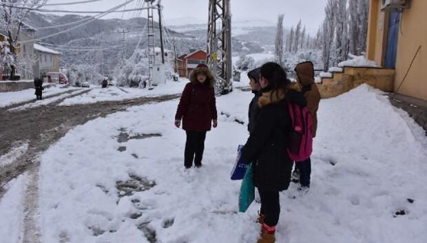 Ardahahın Posof ilçesinde okullara kar tatili- ek fotoğraf-