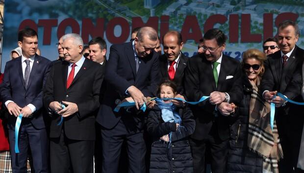 500 milyon TL'lik OTONOMİ açıldı