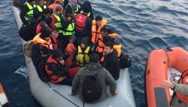 Bir haftada 171 düzensiz göçmen yakalandı