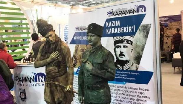 İzmir Fuarında Karaman Standı ilgi görüyor