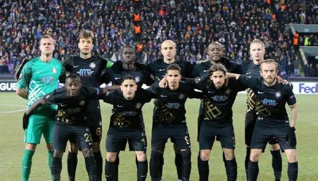 Osmanlıspor - Zürich maçından fotoğraflar