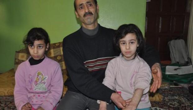 Suriyeli kız kardeşler savaşın izlerinden kurtulmak istiyor