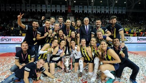 Kupa Voley Fenerbahçenin oldu HABERİNİN FOTOĞRAFLARI