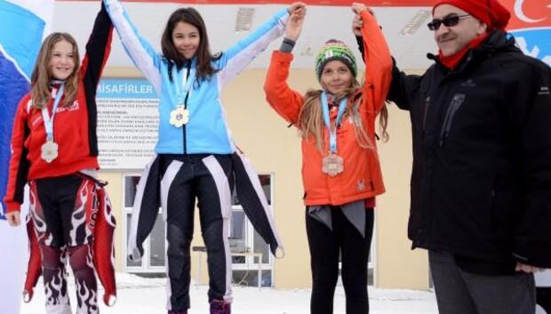 Alp Disiplinli A2 ligi yarışları Erciyes'te yapıldı