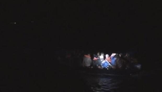 Türkiye karasularında son bir haftada 59 düzensiz göçmen yakalandı