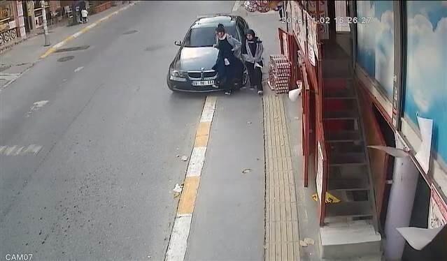 'Pes' dedirten kaza! Böyle çarptı ve kaçtı
