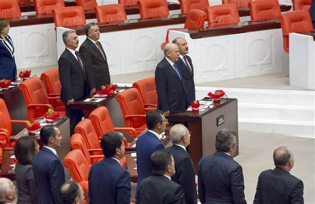 Erdoğan'dan TBMM açılışına katılmayan HDP için sert sözler
