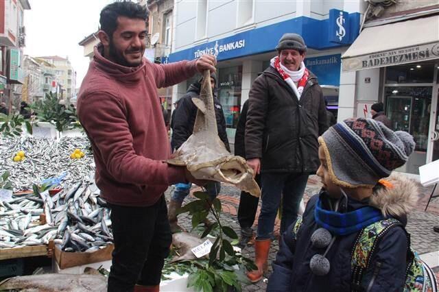 İstanbul Boğazı'nda yakalandı... Sipariş üzerine satılıyor