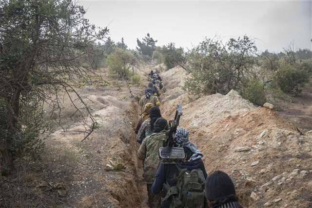 Afrin Harekatı'nda son durum... Burseya Dağı'nda harekat sürüyor...