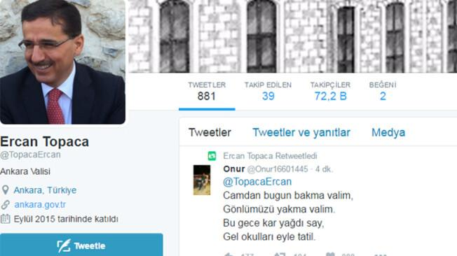 Ankarada yarın okullar tatil oldu mu sorusuna Validen açıklama geldi