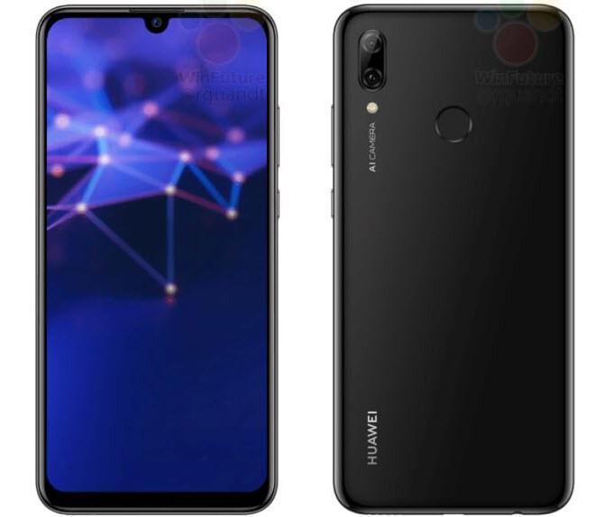 Huawei P Smart 2019'a ait yeni görüntüler yayınlandı