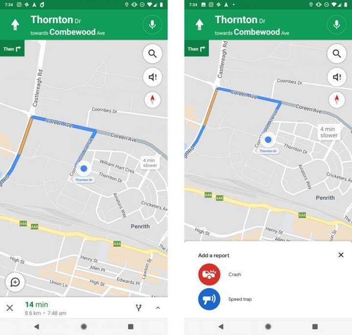 Google Haritalar'a radar özelliği geliyor!