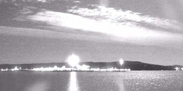 'Son yılların en büyük meteoru' Avustralya'ya düştü!