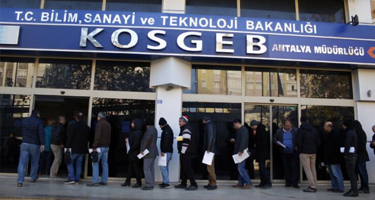 KOSGEB faizsiz kredi başvurusu ilgi görüyor 50 bin TL sıfır faiz kredi işlemleri