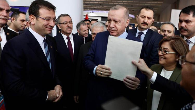 Ekrem İmamoğlu, Cumhurbaşkanı Erdoğan'a 4 sayfalık mektup verdi