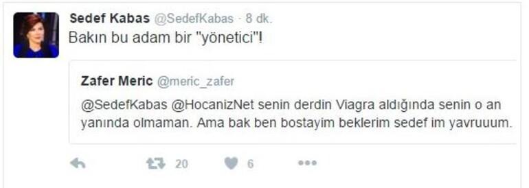 Sedef Kabaş'a hakaret eden Trabzonspor yöneticisi, kulüpten uzaklaştırıldı