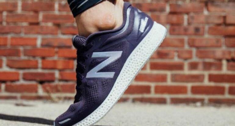 3D yazıcı ile spor ayakkabı üretildi