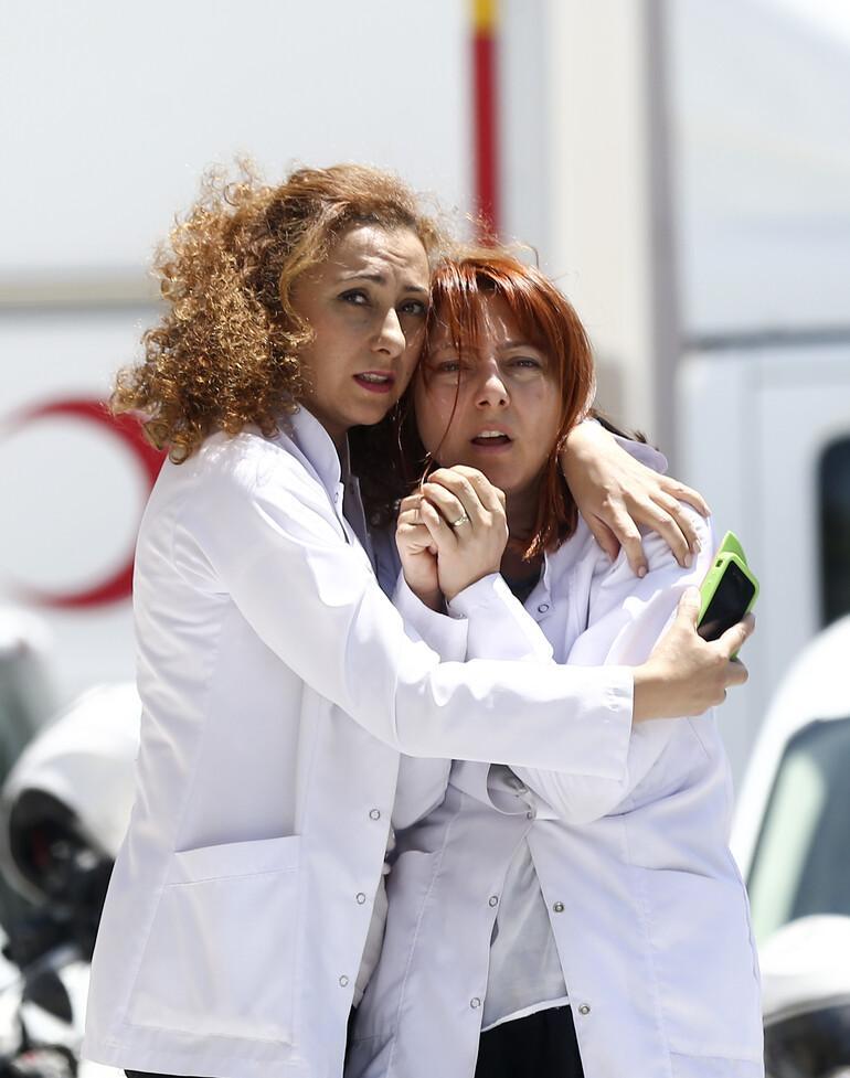 Ankara'da �niversite hastanesinde deh�et: 4 eczac� �ld�r�ld�