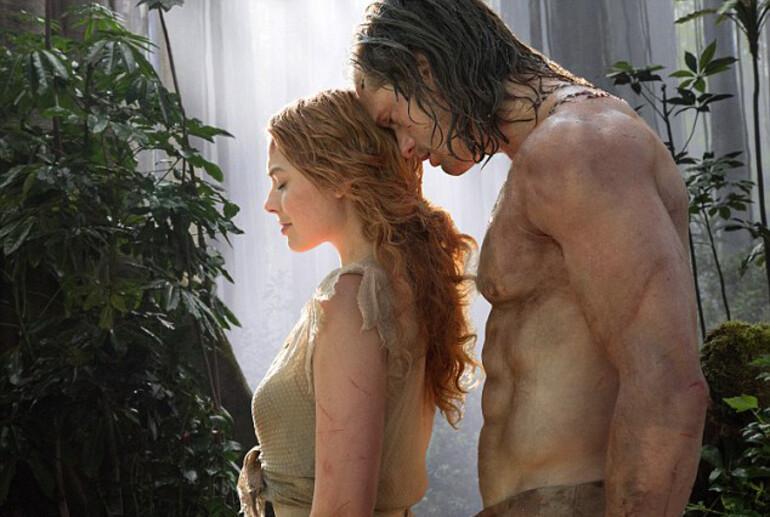 Tarzan'a benzemek için aylarca hamburger yedi