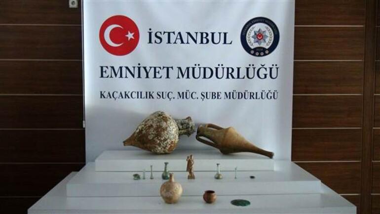 İstanbul'da 2 bin yıllık Afrodit heykeli ele geçirildi