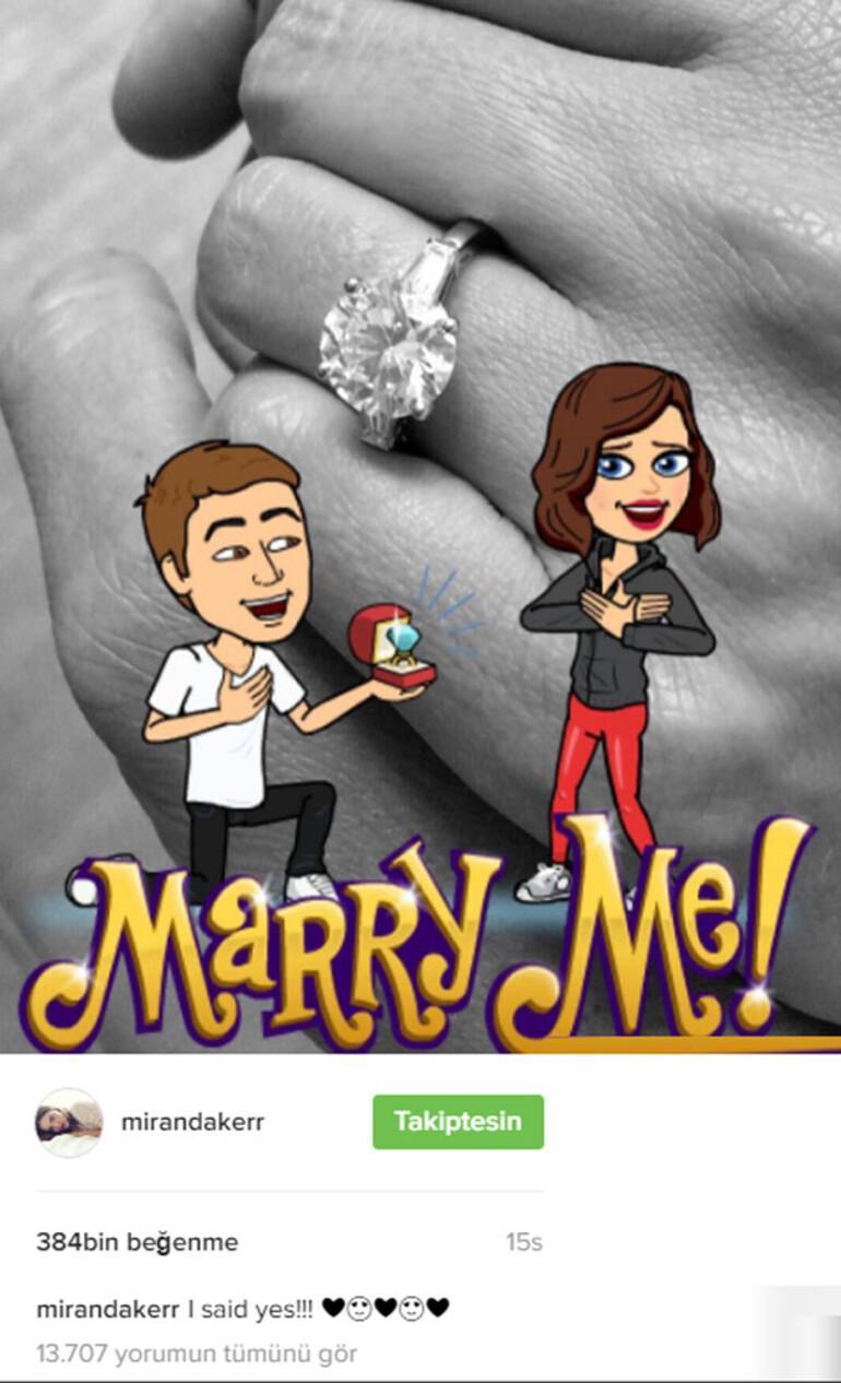 Miranda Kerr ile Evan Spiegel evleniyor