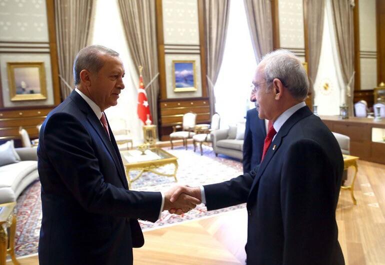 Cumhurba�kanl��� Saray�'ndaki tarihi toplant� ba�lad�