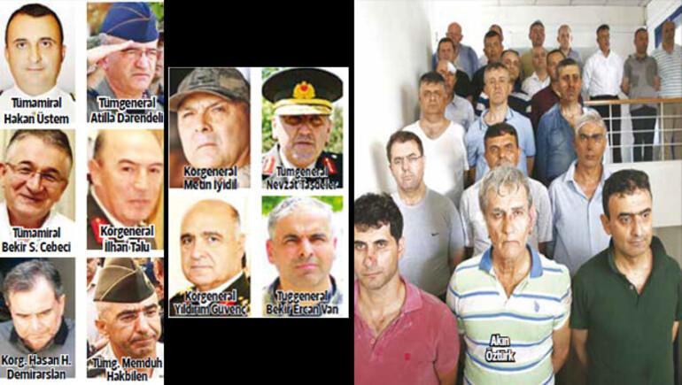 Son dakika haberi: 149 General, 1099 subay, 436 astsubay ihraç edildi