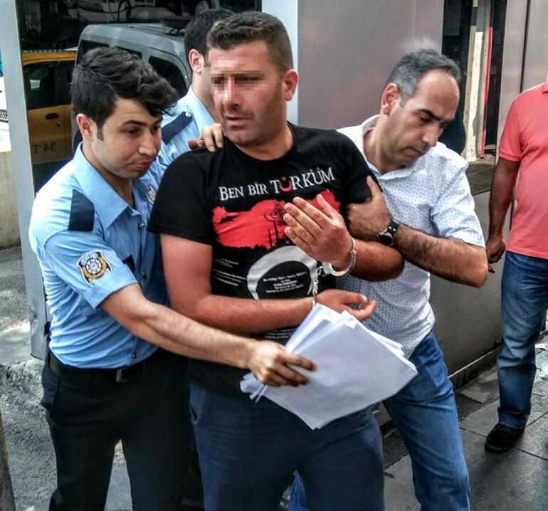 Davutoğlu'na yaklaşıp ölümle tehdit eden bir kişi gözaltında