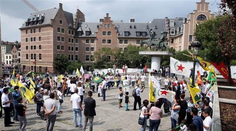 Belçika'dan PKK yanlılarına gösteri izni!