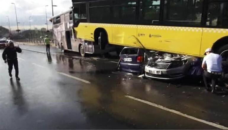 Son dakika haberi: Metrobüs kazasına sebep olan saldırgan böyle görüntülendi
