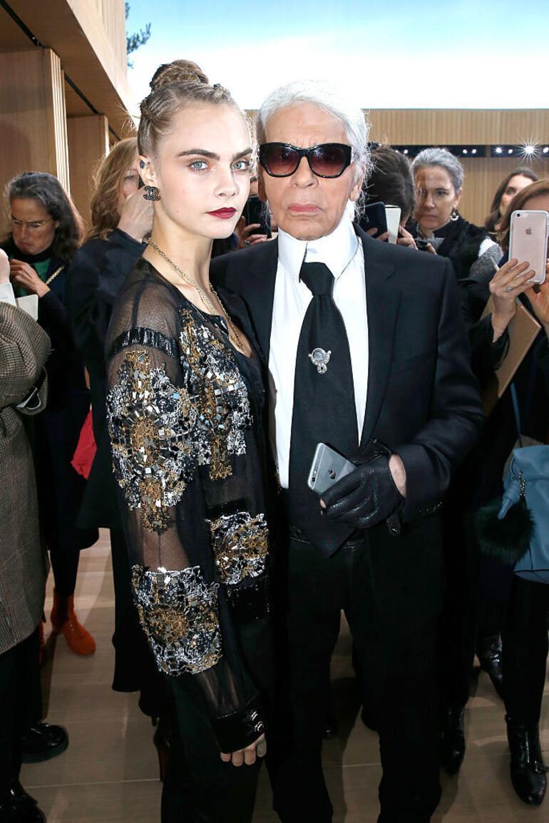 Karl Lagerfeld: 83üme geldim, hiç yorulmadım