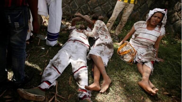 Etiyopya'da göstericilere ateş açıldı: Çok sayıda ölü var