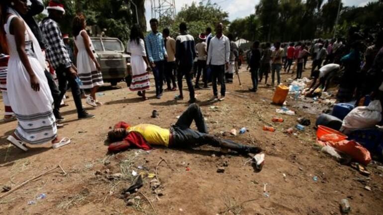 Etiyopya'da g�stericilere ate� a��ld�: �ok say�da �l� var