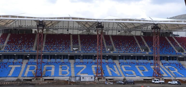 Trabzonspor yeni stadına kavuşuyor