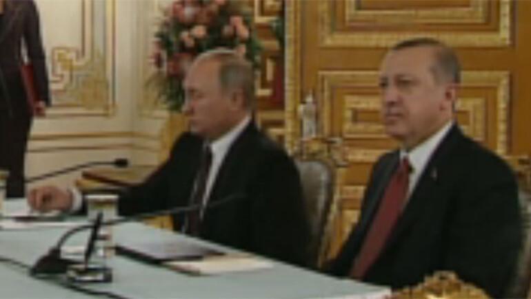 Son dakika: Türkiye ile Rusya arasında Türk Akımı anlaşması imzalandı