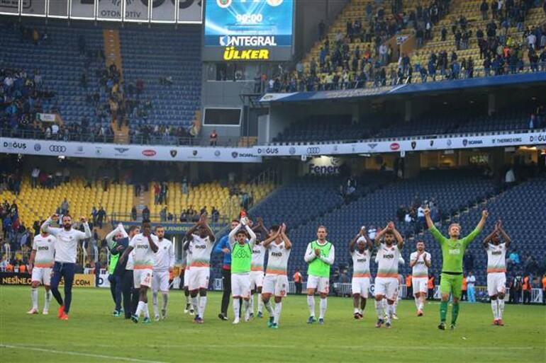 Fenerbahçe 1-1 Aytemiz Alanyaspor / MAÇIN ÖZETİ