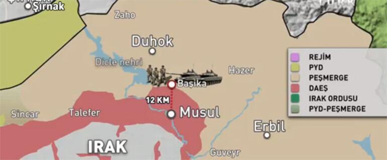 Son dakika: Musul operasyonu başladı... Bölge üç cepheden ateş altında