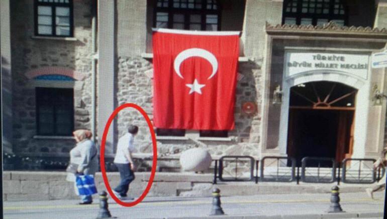 Canlı bombanın Anıtkabir'deki keşif görüntüsü ortaya çıktı