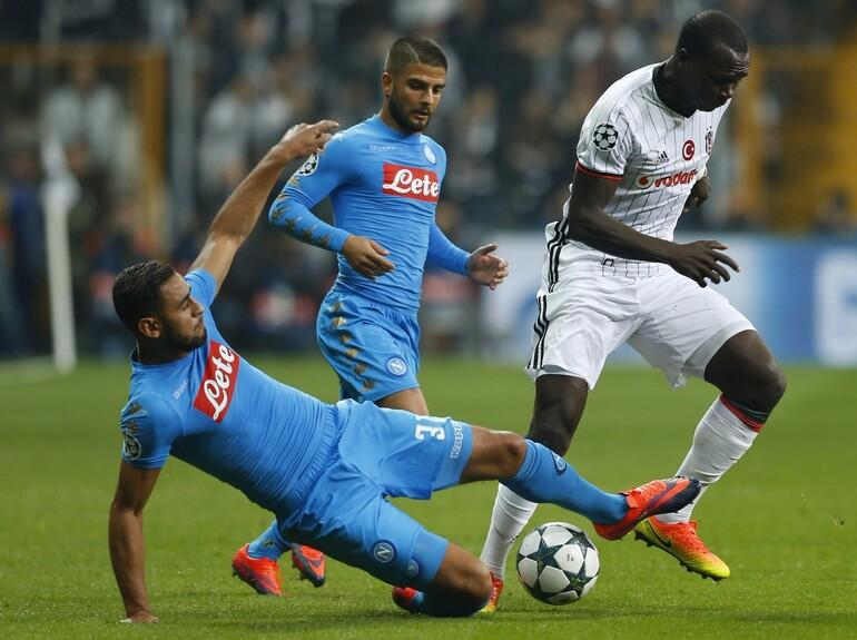 Beşiktaş 1-1 Napoli / MAÇIN ÖZETİ