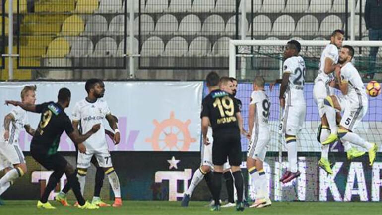 Akhisar Belediyespor 1-3 Fenerbahçe / MAÇIN ÖZETİ