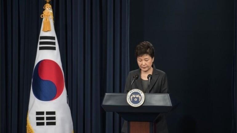 Güney Kore'de Samsung ofisine baskın