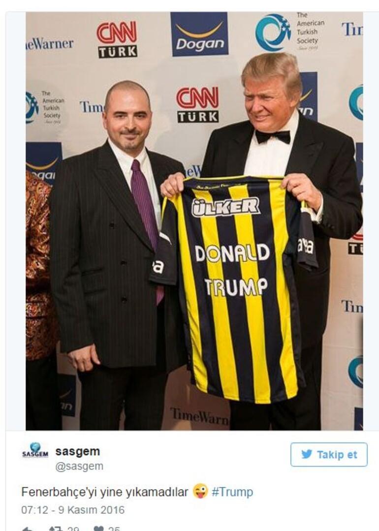 Donald Trump Fenerbahçe maçına gelir mi