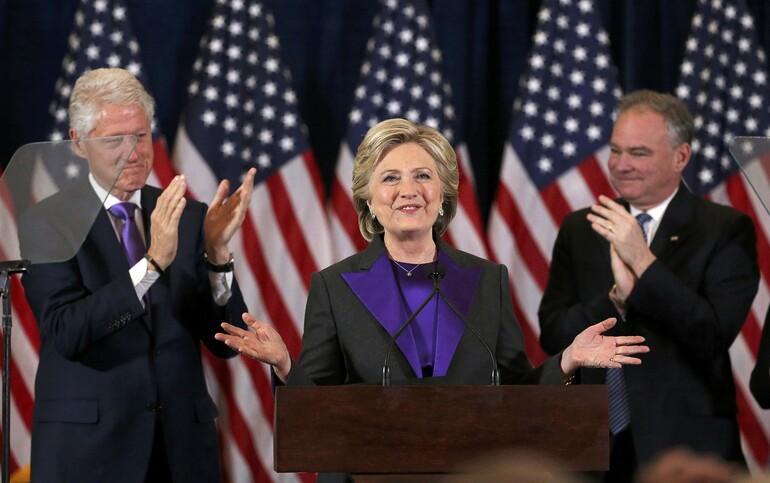 Hillary Clinton: Hayal kırıklığına uğradığınızı biliyorum ama...