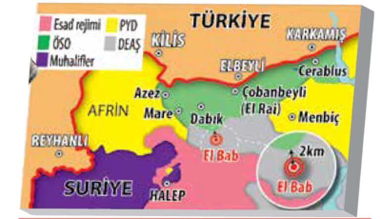 Son dakika haberi: Bordo Bereliler işaretledi, Türk savaş uçakları El Babı vurdu